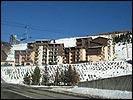 Location au ski Résidence Astragale - Les Menuires - Extérieur hiver