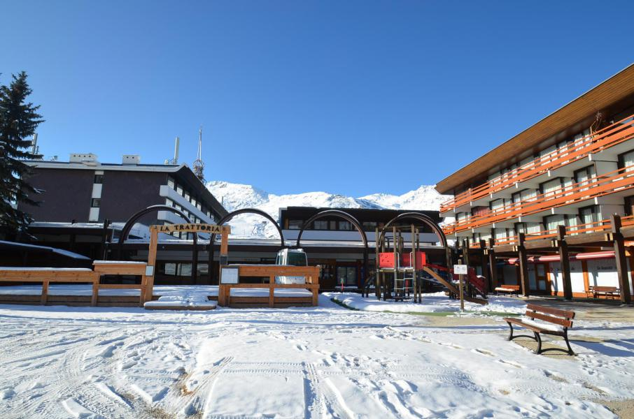Wynajem na narty Résidence Beaufortain - Les Menuires - Zima na zewnątrz