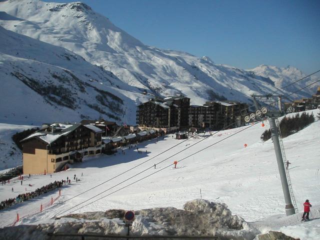 Location au ski Residence Bellevue - Les Menuires - Extérieur hiver
