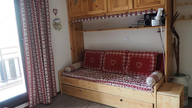 Location au ski 2 Appartements 3 pièces 8 personnes communicant (344) - Résidence Biellaz - Les Menuires - Kitchenette