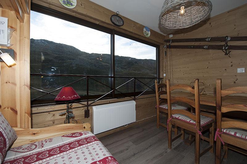Location au ski 2 Appartements 3 pièces 8 personnes communicant (344) - Résidence Biellaz - Les Menuires - Lits superposés
