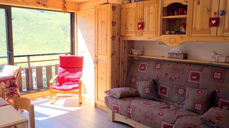 Location au ski Appartement 2 pièces 4 personnes (040) - Residence Biellaz - Les Menuires