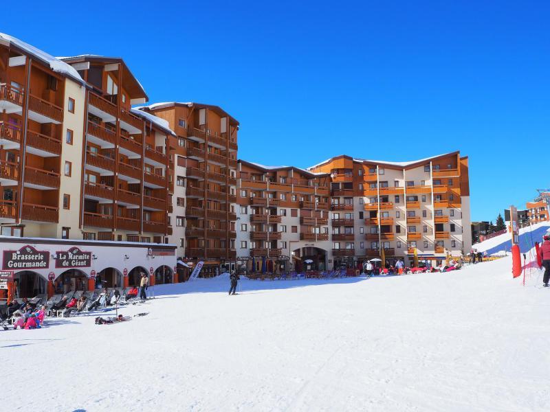 Urlaub in den Bergen Résidence Carlines II - Les Menuires - Draußen im Winter