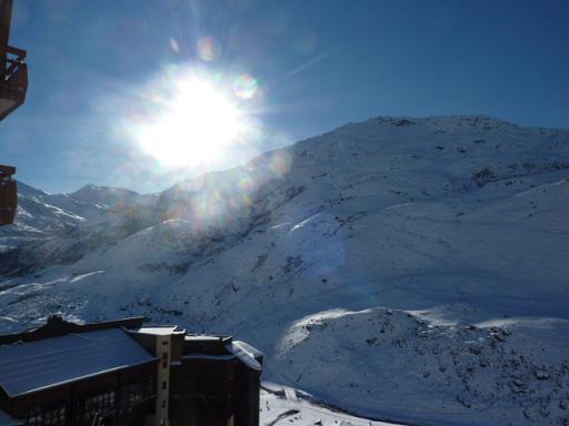 Urlaub in den Bergen Studio Kabine für 4 Personen (081) - Résidence Carlines II - Les Menuires - Draußen im Winter