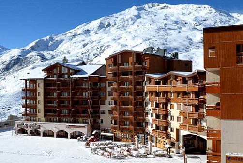 Location au ski Studio cabine 4 personnes (081) - Residence Carlines Ii - Les Menuires