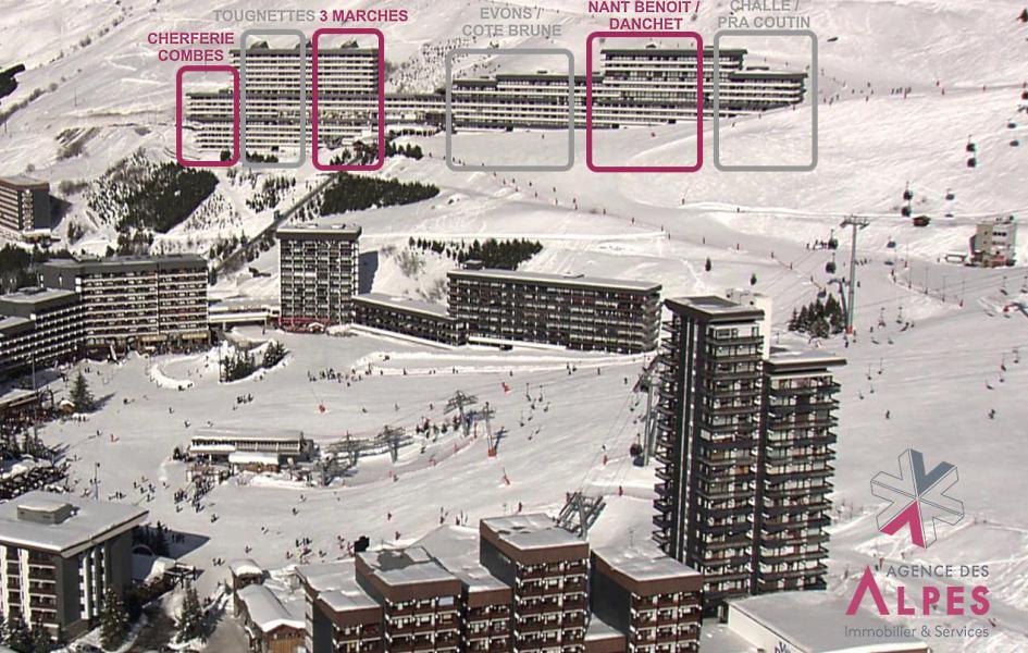 Location au ski Résidence Challe - Les Menuires