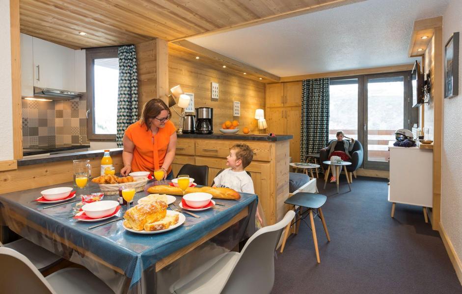 Alquiler al esquí Résidence Chanteneige Croisette - Les Menuires - Cocina