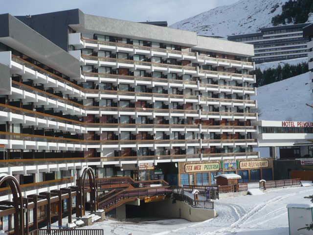 Location au ski Résidence Chavière - Les Menuires - Extérieur hiver