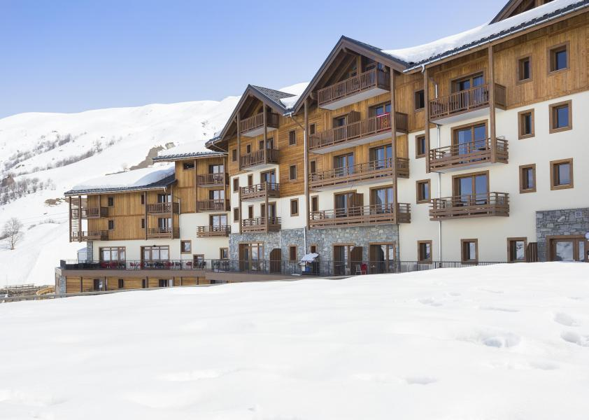 Location au ski Résidence Club MMV le Coeur des Loges - Les Menuires - Extérieur hiver