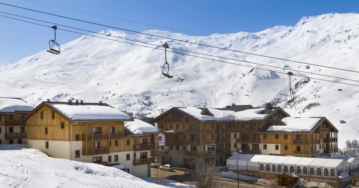 Vacances en montagne Résidence Club MMV le Coeur des Loges - Les Menuires - Extérieur hiver