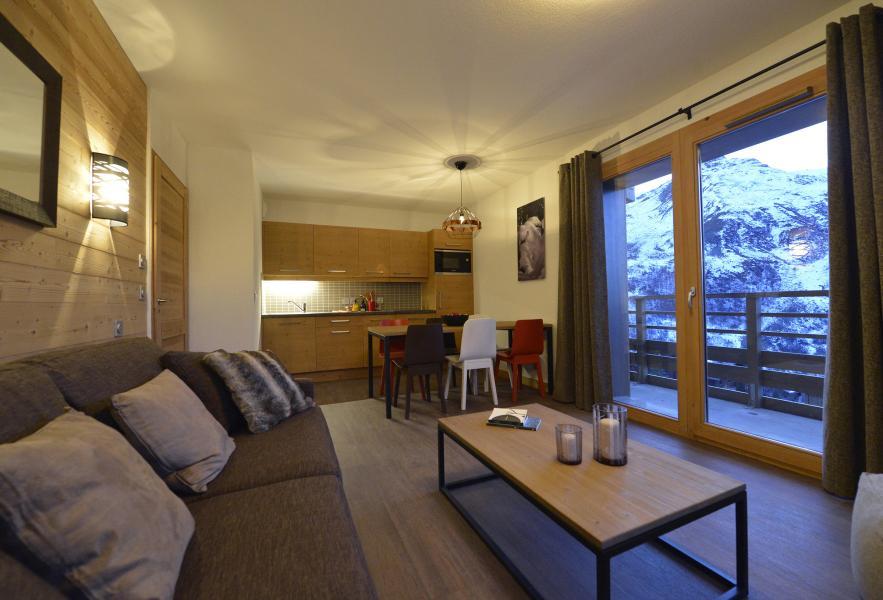 Location au ski Résidence Club MMV le Coeur des Loges - Les Menuires - Coin séjour