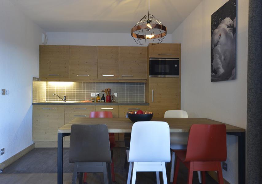 Skiverleih Résidence Club MMV le Coeur des Loges - Les Menuires - Offene Küche