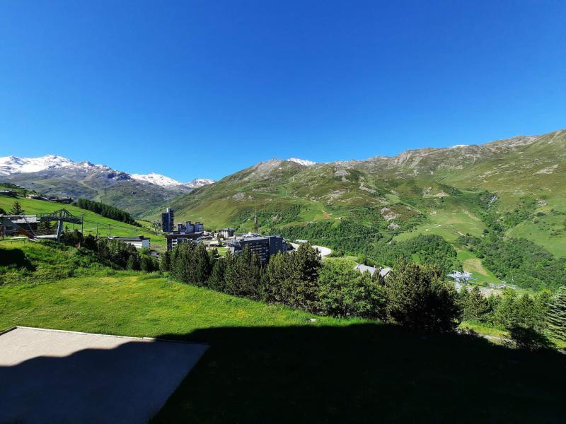 Location au ski Studio 3 personnes (410) - Résidence Combes - Les Menuires - Baignoire