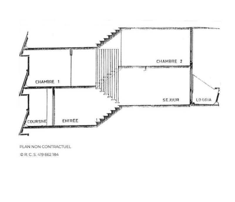 Rent in ski resort 3 room apartment 8 people (628) - Résidence Danchet - Les Menuires