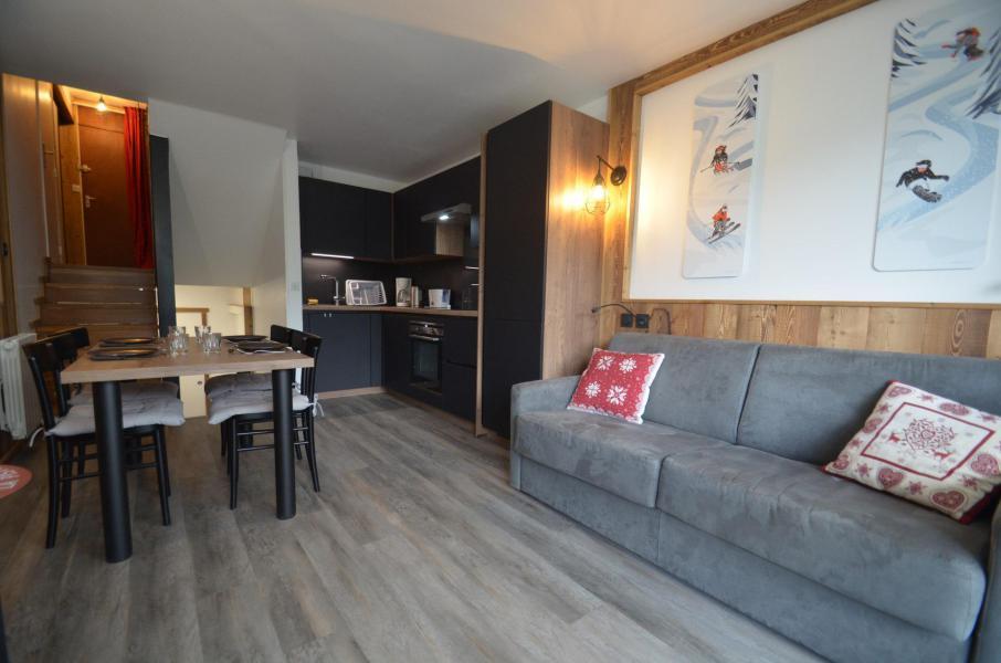 Location au ski Appartement duplex 2 pièces 4 personnes (928) - Résidence Danchet - Les Menuires