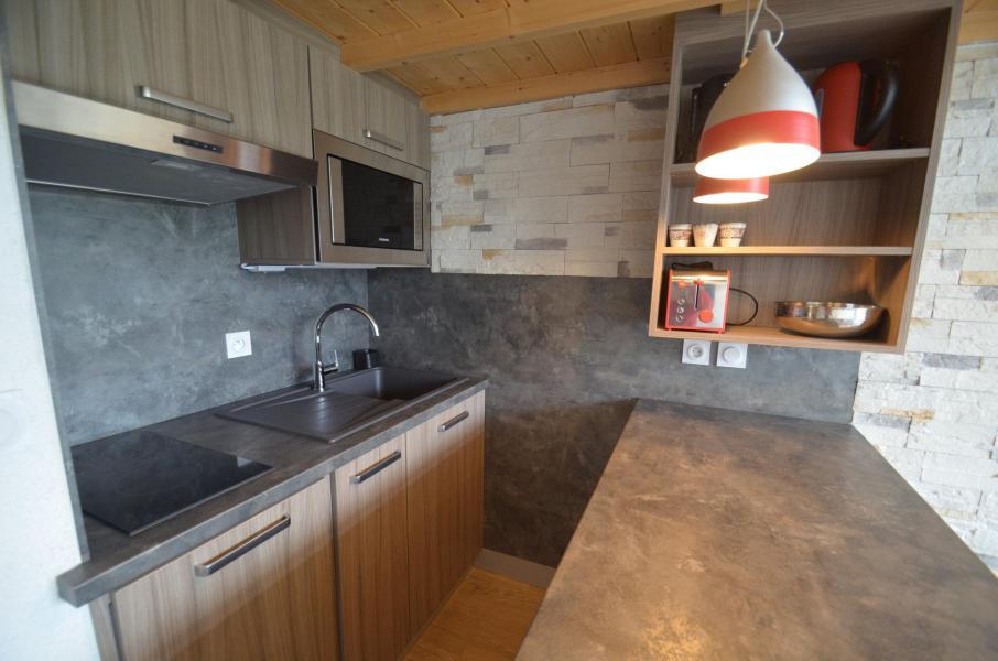 Location au ski Appartement 2 pièces mezzanine 6 personnes (1029) - Résidence Danchet - Les Menuires - Cuisine