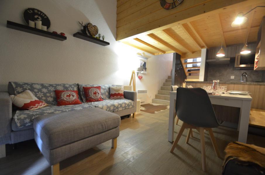 Location au ski Appartement 2 pièces mezzanine 6 personnes (1029) - Résidence Danchet - Les Menuires - Séjour