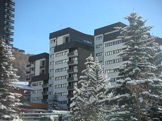 Vacaciones en montaña Apartamento 2 piezas cabina para 6 personas (AL0R04) - Résidence des Alpages - Les Menuires - Invierno