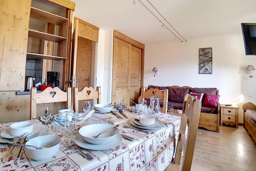 Vacaciones en montaña Apartamento 2 piezas para 5 personas (330) - Résidence des Origanes - Les Menuires - Invierno