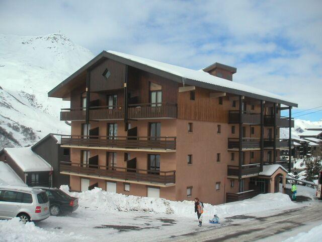 Location au ski Résidence l'Astragale - Les Menuires