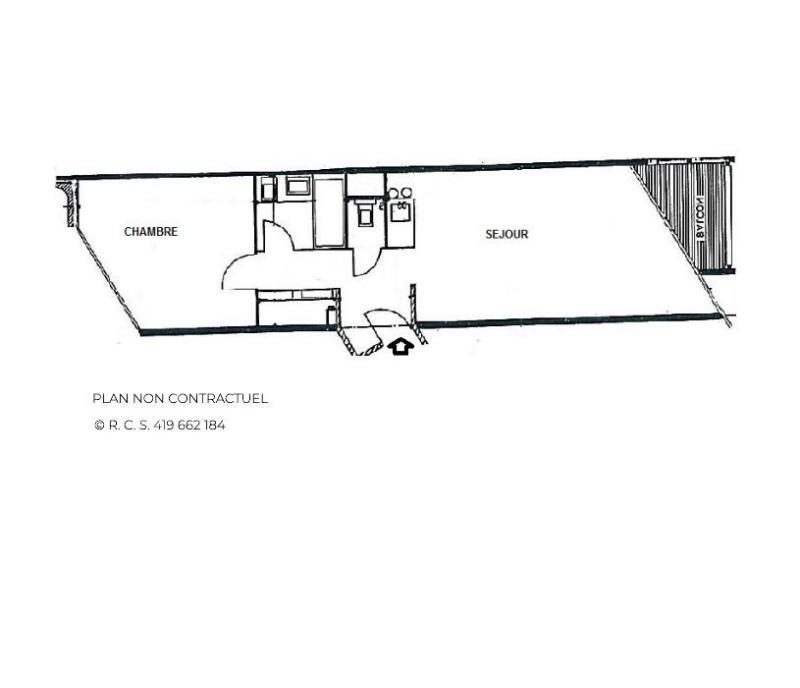 Location au ski Appartement 2 pièces 5 personnes (607) - Résidence la Grande Masse - Les Menuires