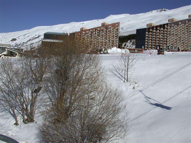 Vacances en montagne Résidence la Grande Masse - Les Menuires - Extérieur hiver