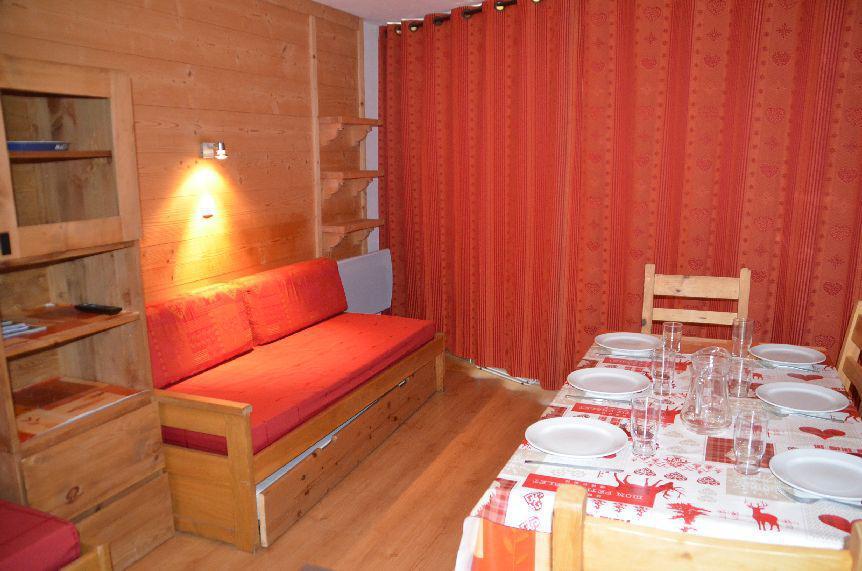 Location au ski Appartement 2 pièces 5 personnes (607) - Résidence la Grande Masse - Les Menuires - Canapé