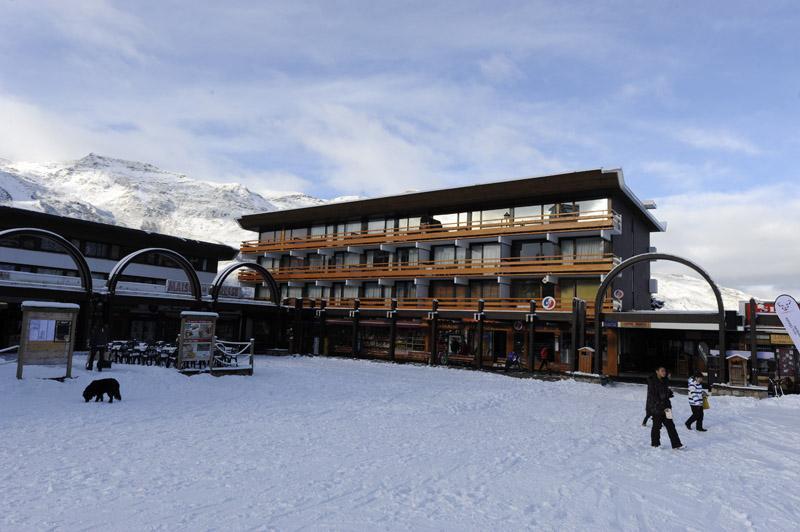 Urlaub in den Bergen 2-Zimmer-Appartment für 6 Personen (38) - Résidence la Vanoise - Les Menuires - Draußen im Winter