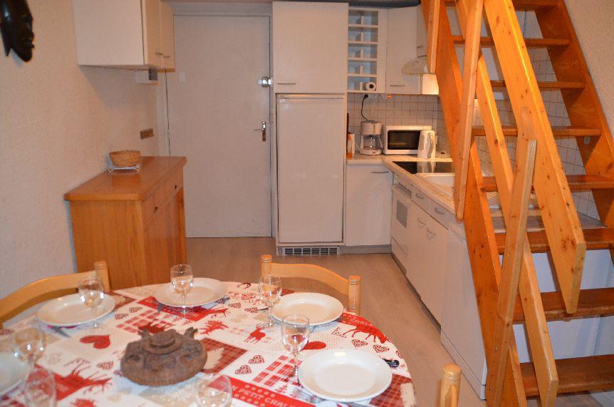 Location au ski Appartement 2 pièces mezzanine 6 personnes (C130) - Résidence le Jettay - Les Menuires