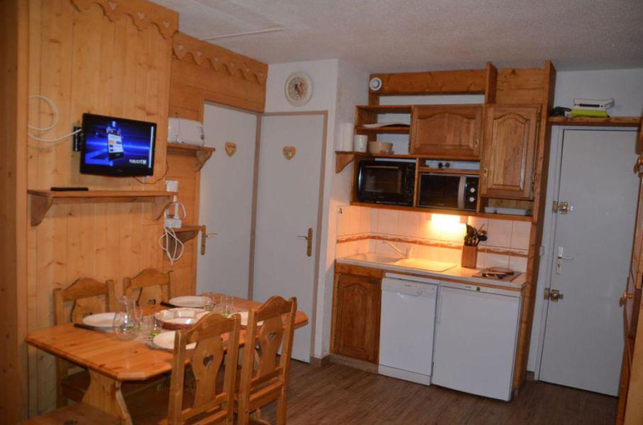 Location au ski Appartement 1 pièces 4 personnes (B77) - Résidence le Jettay - Les Menuires - Kitchenette
