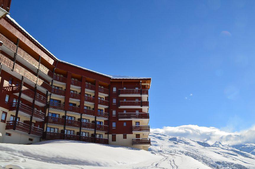 Vacanze in montagna Résidence le Nécou - Les Menuires - Esteriore inverno