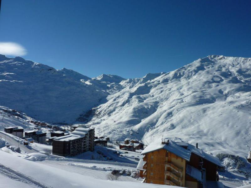 Location au ski Studio 4 personnes (718) - Résidence le Nécou - Les Menuires - Extérieur hiver