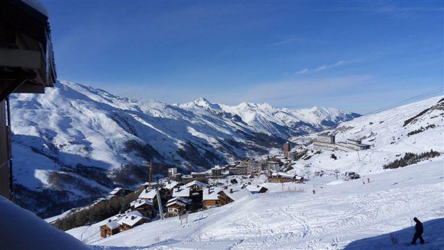 Location au ski Studio coin montagne 3 personnes (503) - Résidence le Nécou - Les Menuires - Extérieur hiver