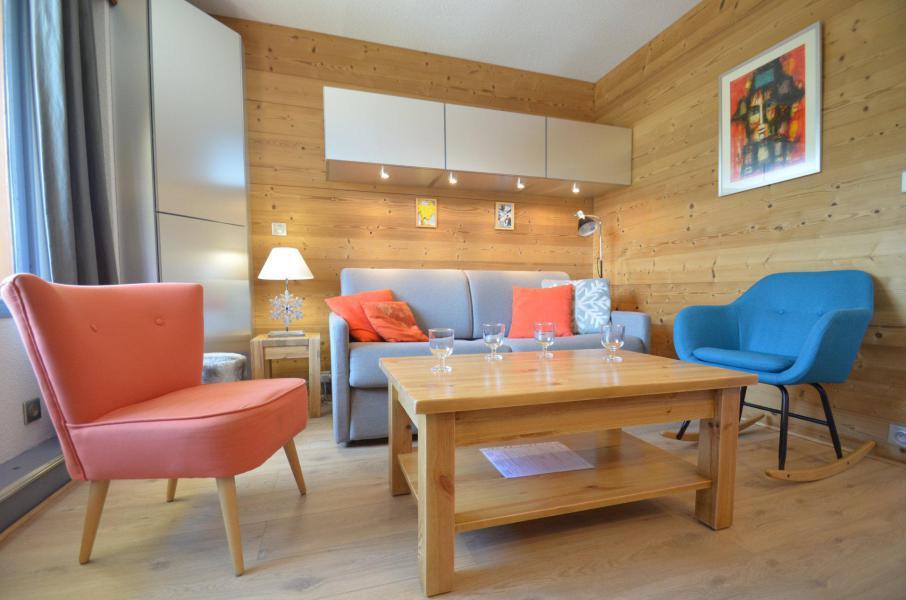 Location au ski Appartement 2 pièces cabine 5 personnes (616) - Résidence le Nécou - Les Menuires - Séjour