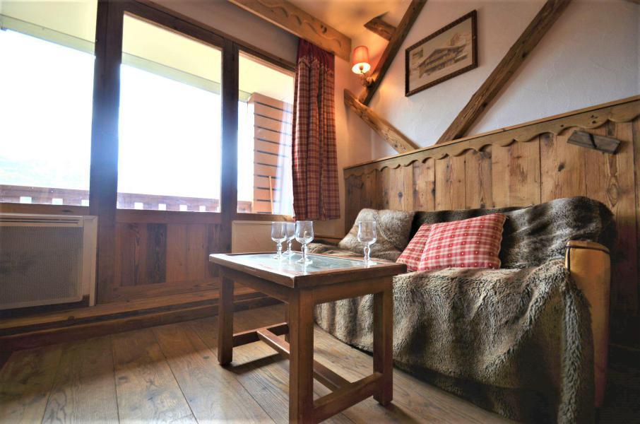 Location au ski Studio 4 personnes (718) - Résidence le Nécou - Les Menuires - Séjour