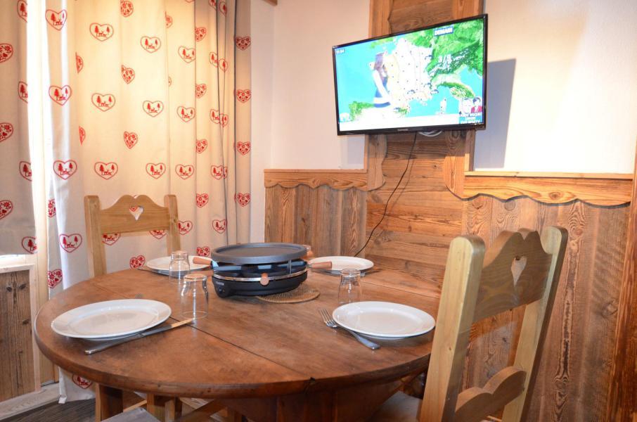 Location au ski Studio coin montagne 3 personnes (717) - Résidence le Nécou - Les Menuires - Appartement