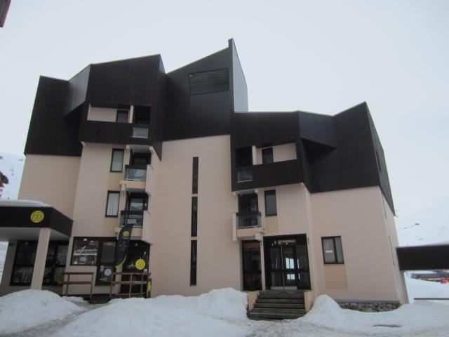 Vacances en montagne Appartement 2 pièces cabine 6 personnes (211) - Résidence le Sorbier - Les Menuires - Extérieur hiver