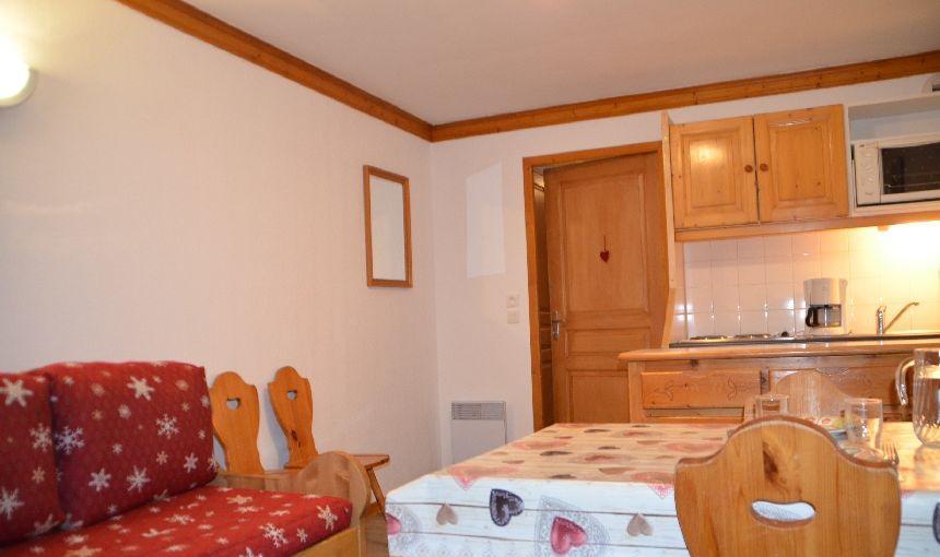 Location au ski Appartement 2 pièces 4 personnes (711) - Résidence le Valmont - Les Menuires