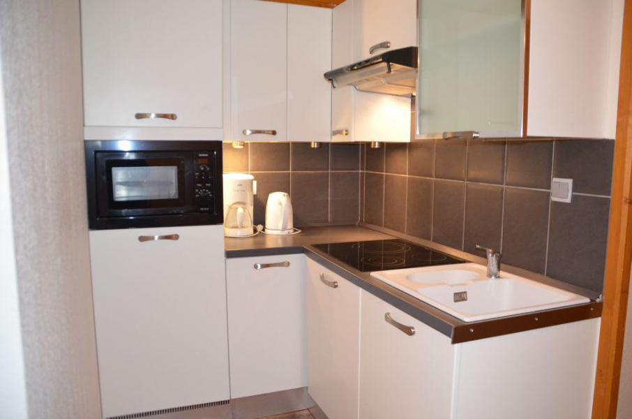 Location au ski Appartement 2 pièces cabine 6 personnes (107A) - Résidence le Valmont - Les Menuires - Cuisine