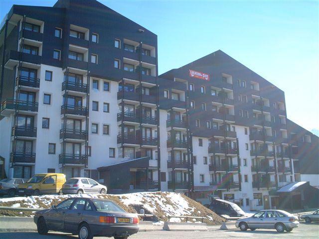 Location au ski Residence Le Villaret - Les Menuires