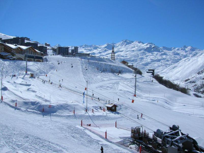 Location au ski Studio cabine 4 personnes (712) - Résidence le Villaret - Les Menuires