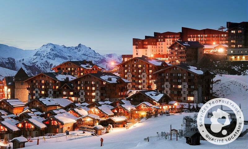 Vacances en montagne Résidence les Alpages de Reberty - Maeva Home - Les Menuires - Extérieur hiver