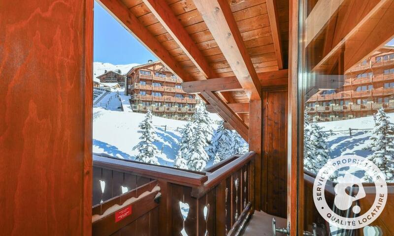 Vacances en montagne Appartement 3 pièces 8 personnes (Sélection 60m²-4) - Résidence les Alpages de Reberty - Maeva Home - Les Menuires - Extérieur hiver