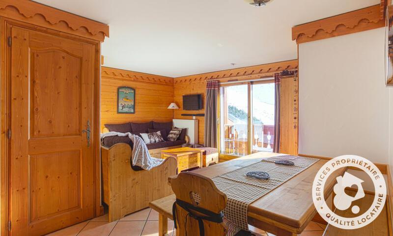 Vacances en montagne Appartement 3 pièces 8 personnes (Prestige 50m²-2) - Résidence les Alpages de Reberty - Maeva Home - Les Menuires - Extérieur hiver