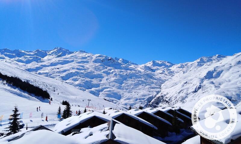 Vacances en montagne Appartement 3 pièces 6 personnes (43m²-2) - Résidence les Alpages de Reberty - Maeva Home - Les Menuires - Extérieur hiver