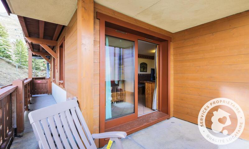Vacances en montagne Appartement 2 pièces 6 personnes (Sélection -1) - Résidence les Alpages de Reberty - Maeva Home - Les Menuires - Extérieur hiver