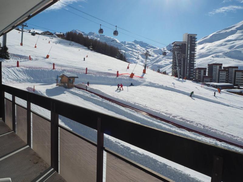 Vacances en montagne Appartement 2 pièces 6 personnes (417) - Résidence les Aravis - Les Menuires - Extérieur hiver