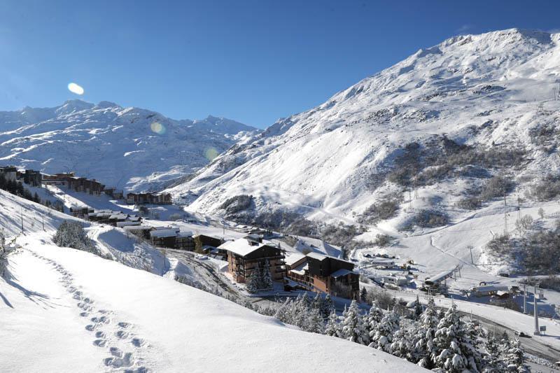 Soggiorno sugli sci Résidence les Asters B2 - Les Menuires - Interno