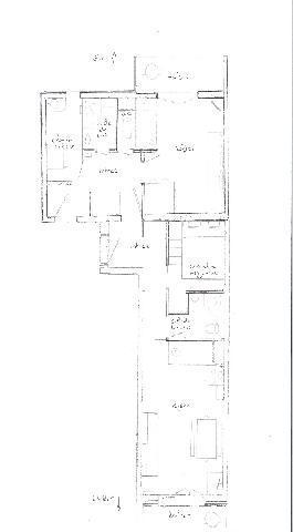 Location au ski Studio cabine 4 personnes (108) - Residence Les Balcons D'olympie - Les Menuires - Plan