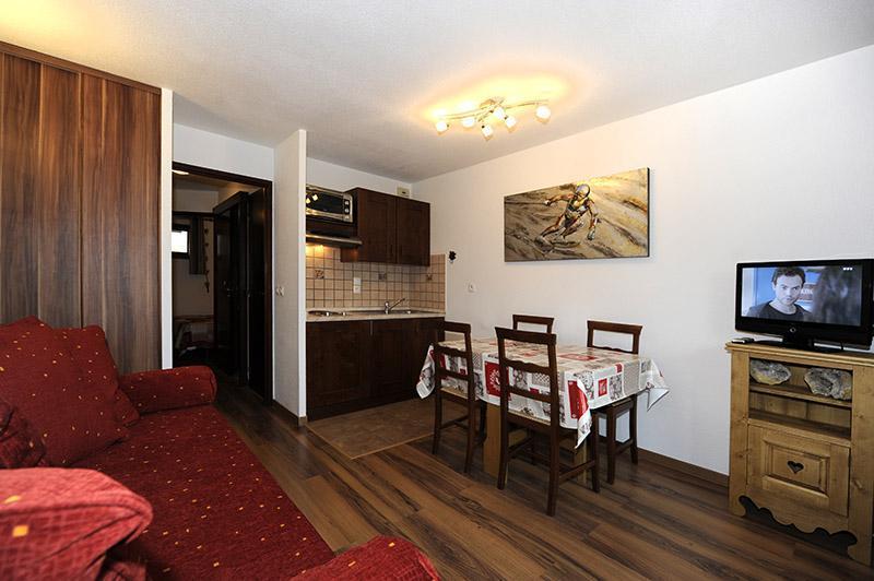 Location au ski Appartement 2 pièces 4 personnes (216) - Résidence les Balcons d'Olympie - Les Menuires